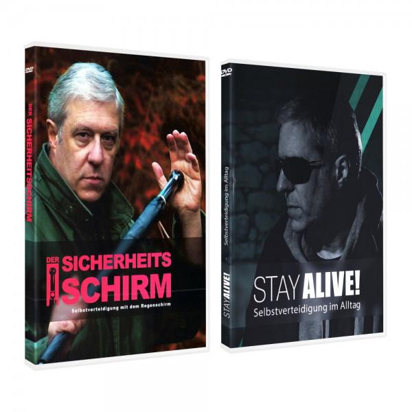 """DVD Doppelset """"Sicherheitsschirm"""" und """"Stayalive"""""""