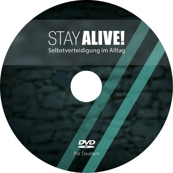 """DVD """"Stay Alive"""" - Selbstverteidigung ohne Hilfsmittel."""